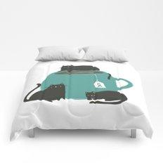 CATS + TEA Comforters