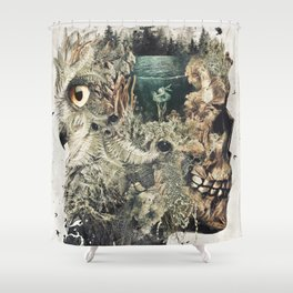 Forest Lake Dreams Shower Curtain