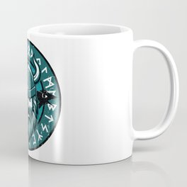 Viking Odin with Hugin and Munin Coffee Mug