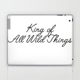 king of all wild things Laptop & iPad Skin