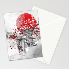 the warrior path Stationery Cards