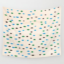 Felt tip wood print #1 Wall Tapestry
