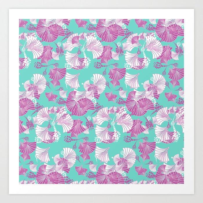 Blossom and Fan Art Print