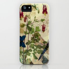 Columbine Love Letters 2 iPhone Case