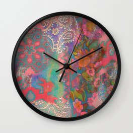 Tracy Porter / Poetic Wanderlust: Good Vibes Only Wall Clock