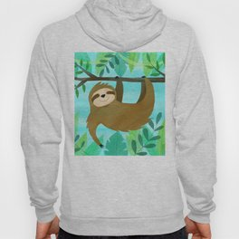 Cute Sloth Hoody