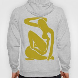 Matisse Cut Out Figure #1 Mustard Yellow Hoody