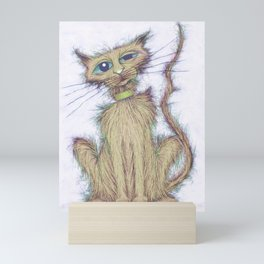 Smelly cat Mini Art Print