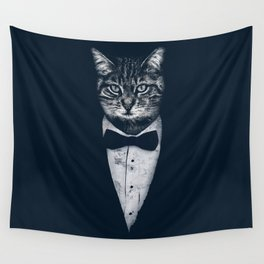 Mr Cat Wall Tapestry