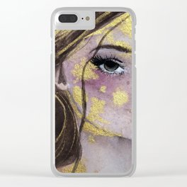 All That Shimmers Clear iPhone Case