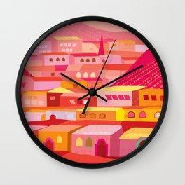 San Miguel Afternoon Wall Clock