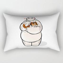 love cat baymax Rectangular Pillow
