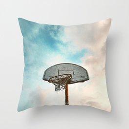 basketball hoop 8 Throw Pillow
