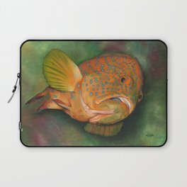 Coral Grouper Laptop Sleeve