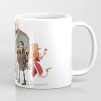 dungeons and dragons Mugs featuring Dungeons and Dragons by Markus Erdt