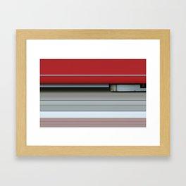 Wiener Linien Framed Art Print