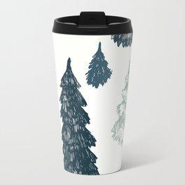 Christmas trees Travel Mug