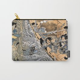Kuniyoshi Utagawa, The ghost of Taira Tomomori, Daimotsu bay Carry-All Pouch