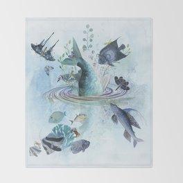 Gone Fishin' Throw Blanket
