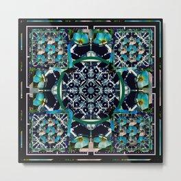 cherokee rose Maltese cross 1 Metal Print