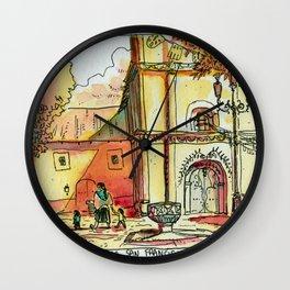 Templo San Francisco Wall Clock