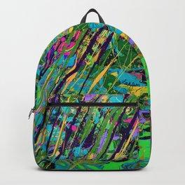 Mardi Gras Marble Backpack