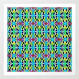 Ribbon Pattern 2 Art Print