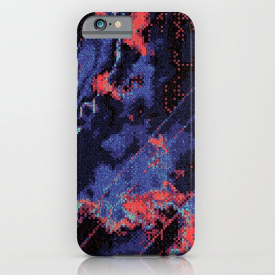 Glitch Cartography #1 iPhone & iPod Case