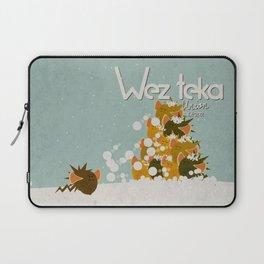 """HELP…. """"Bad Timing…"""" Wezteka Union. Laptop Sleeve"""