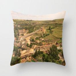 Segovia, Spain Throw Pillow