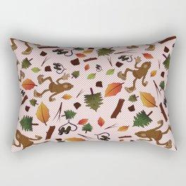 Sasquatch Watch Rectangular Pillow