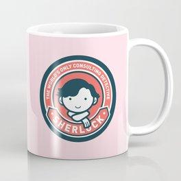 Sherlock - Cute Sherlock Holmes in Red Coffee Mug
