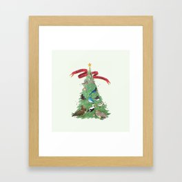 The Twelve Birds of Christmas Framed Art Print