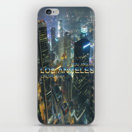 TimeLAX: You are in Los Angeles California iPhone Skin