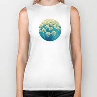 lace Biker Tanks featuring Lace by Olivia Joy St.Claire - Modern Nature / T