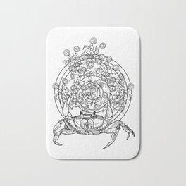 Bullseye Crab Bath Mat