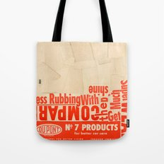 Less rubbing with DuPont Tote Bag