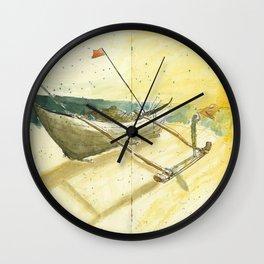 Goa Beach Wall Clock