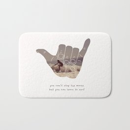good vibrations Bath Mat