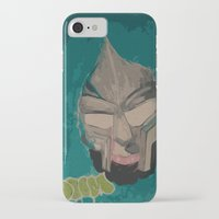 mf doom iPhone & iPod Cases featuring MF DOOM by Rashida Chavis
