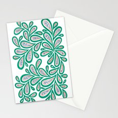 Swirl Drop Stationery Cards