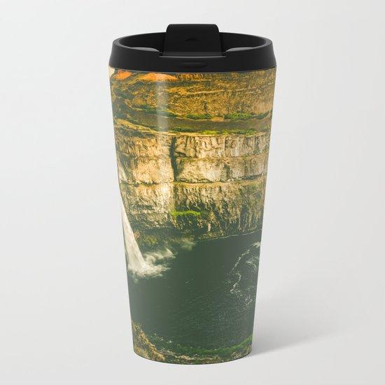 Hidden Waterfall Metal Travel Mug