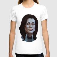nan lawson T-shirts featuring Mass Effect: Miranda Lawson by Ruthie Hammerschlag