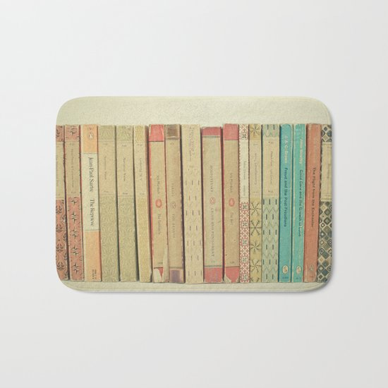 Books Bath Mat