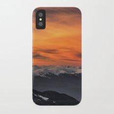 Peaks III iPhone X Slim Case