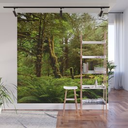 Hoh Rainforest Wall Mural