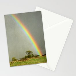 Lincolnshire Wolds Rainbow Stationery Cards