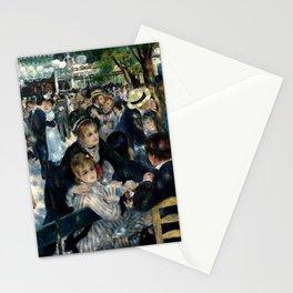 Bal du moulin de la Galette Stationery Cards