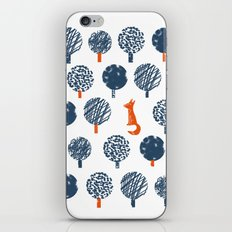 Lost in the Woods ( a Fox adventure) iPhone & iPod Skin