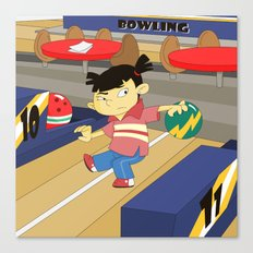 Non Olympic Sports: Bowling Canvas Print
